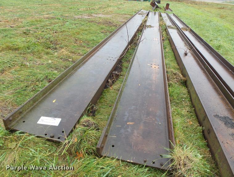 (2) steel I-beams
