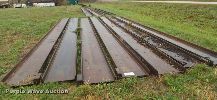 (7) steel I-beams