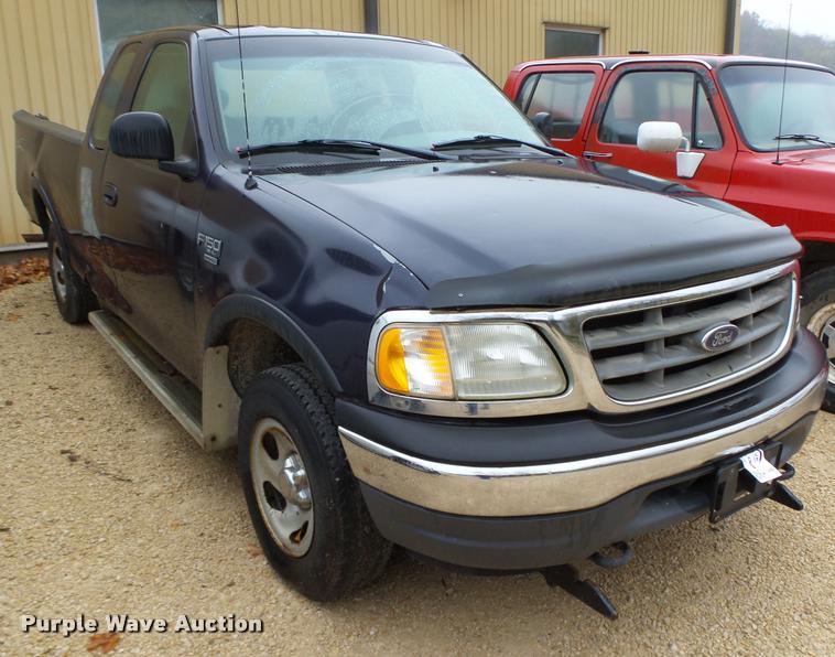 2001 Ford F150 XL SuperCab pickup truck