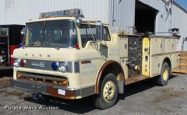 1976 Ford 900 fire truck