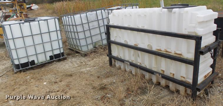 (6) poly and asphalt tanks
