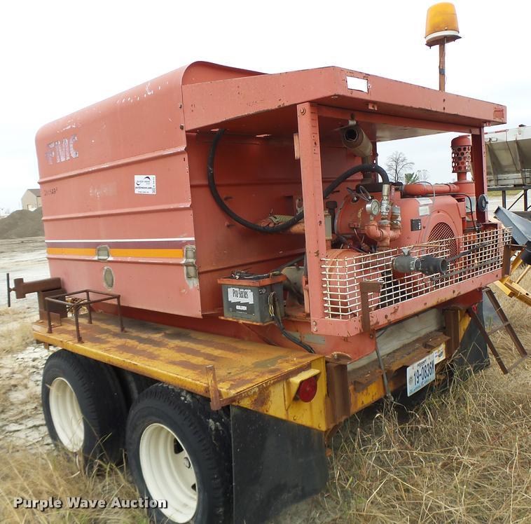 1997 Shop built FMC C100E1000SB pressure washer trailer