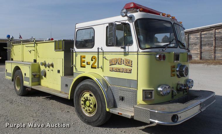 1978 Seagrave fire truck