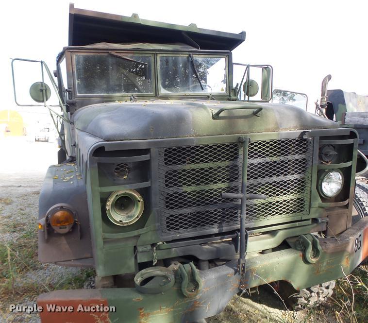 1985 Am General M929 dump truck