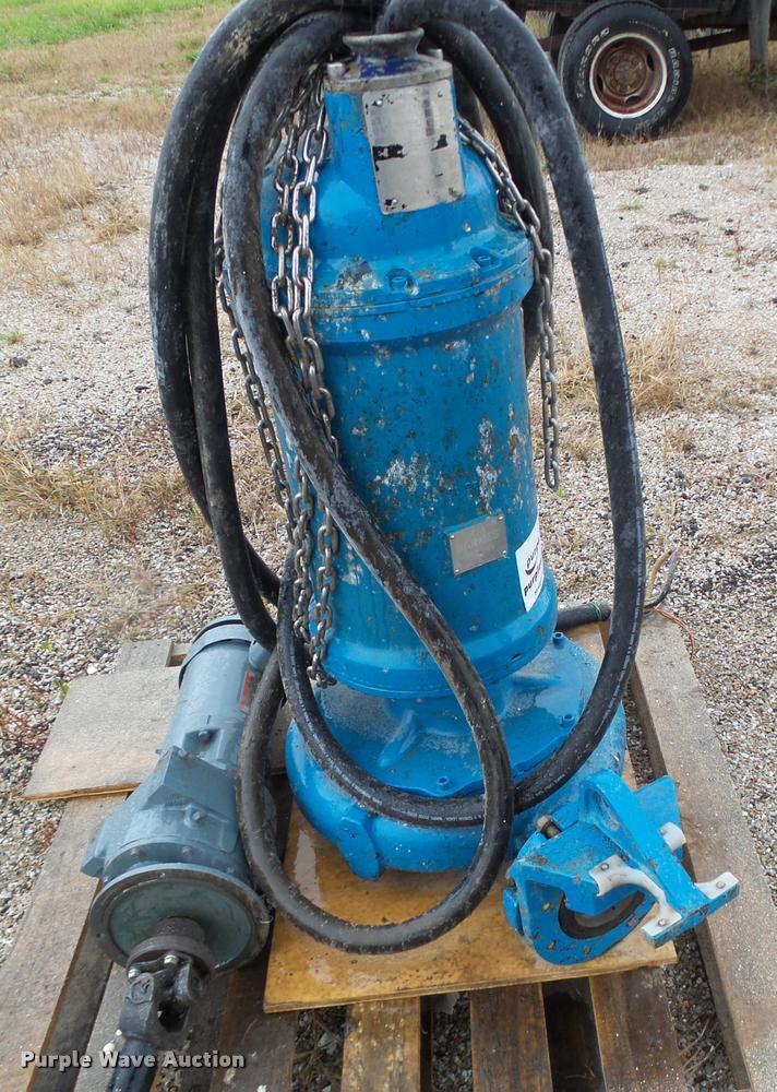Barnes 4SHDI 60044 pump/grinder