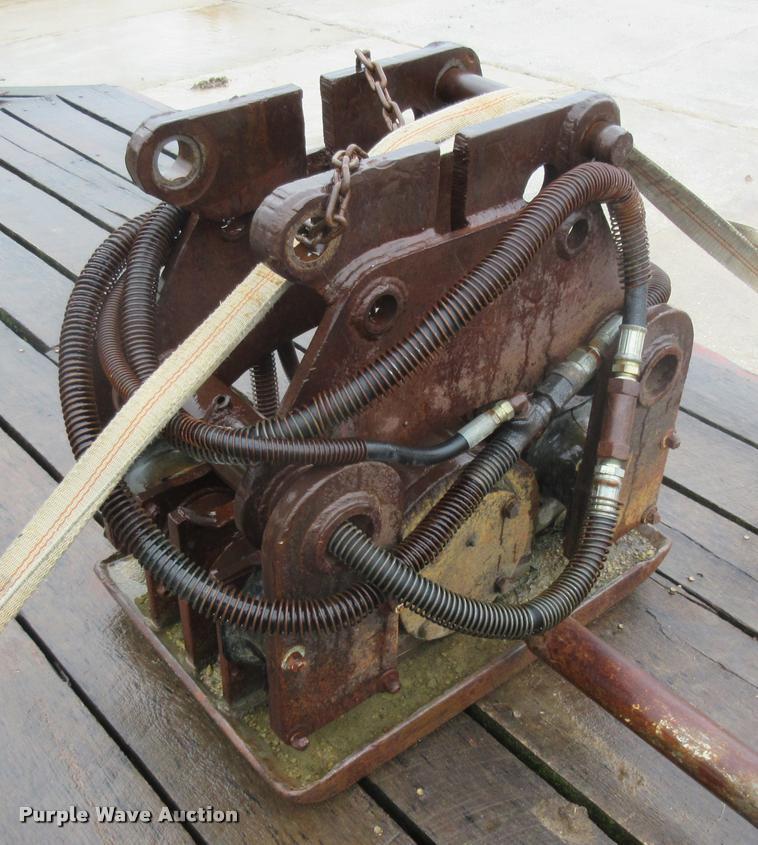 Hydraulic tamper