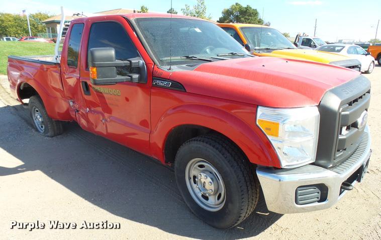 2011 Ford F250 Super Duty SuperCab pickup truck