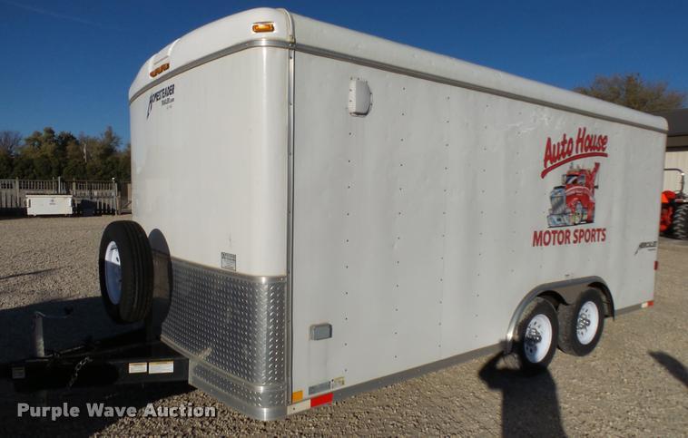 2012 Homesteader Hercules enclosed cargo trailer