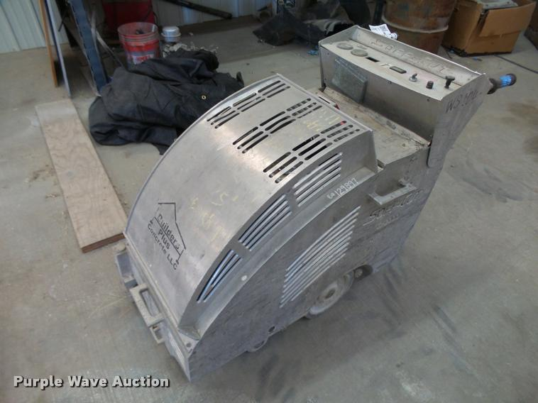 (2) Soft Cut G2000 concrete saws