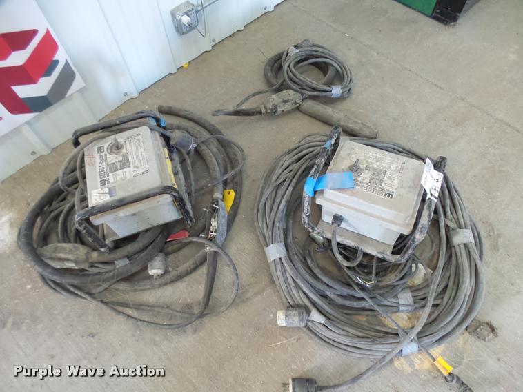 (2) Wyco select cycle concrete vibrators