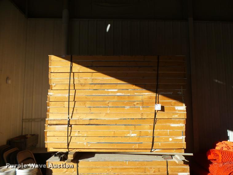 (24) wood temporary wall panels