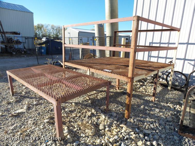 (3) steel platforms