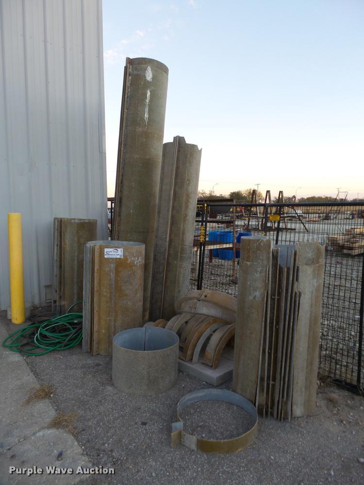 MFG fiberglass round column forms