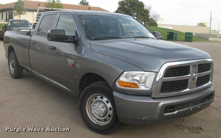 2010 Dodge Ram 2500HD Crew Cab pickup truck