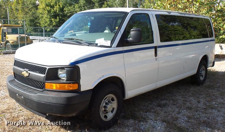 2008 Chevrolet Express van