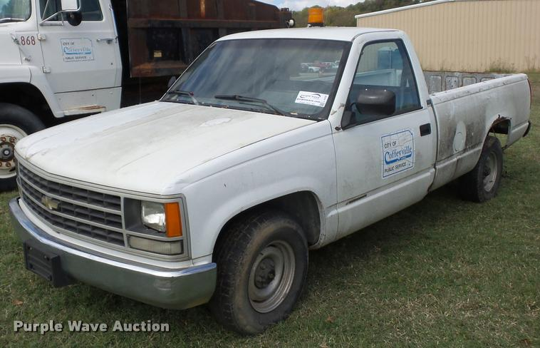 1990 Chevrolet 1500 pickup truck