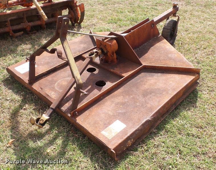 FMC Side Winder LX60 rotary mower