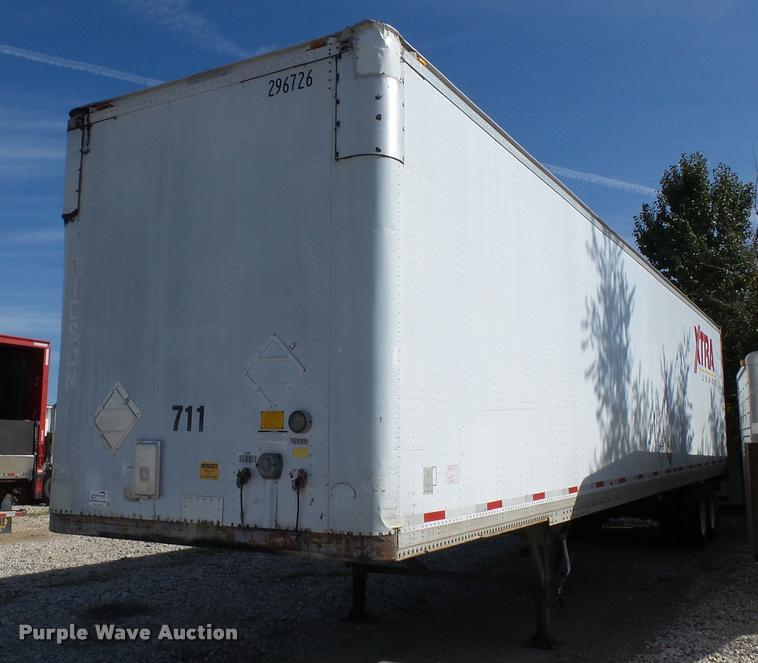 1994 Strick dry van trailer