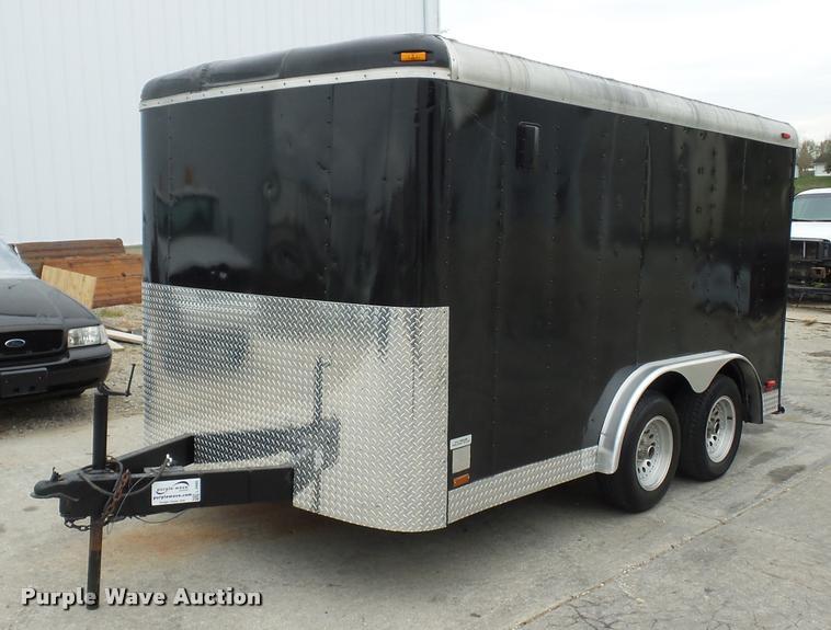 2000 Pace CS712TA2 enclosed cargo trailer