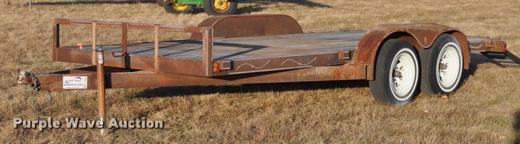 1996 Spencer utility trailer