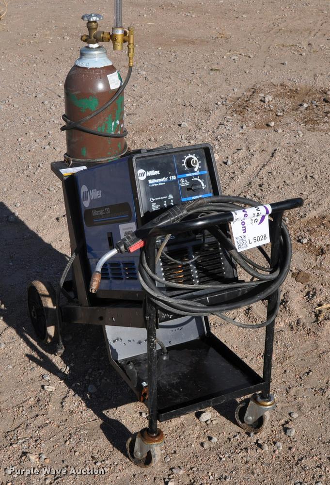 Miller Millermatic 130 wire feed welder