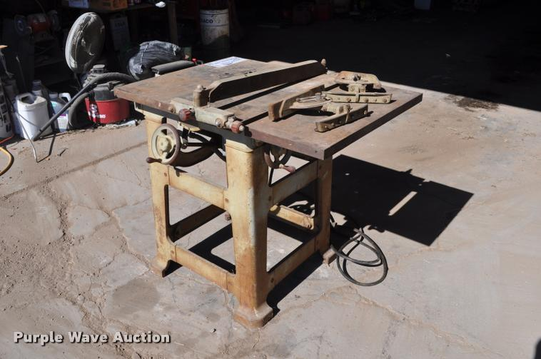 Wallace table saw