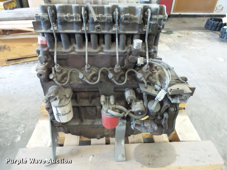 Deutz F4M1011F four cylinder diesel engine