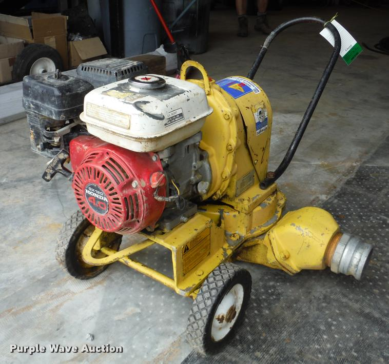 1994 Wacker PDA3 diaphram pump