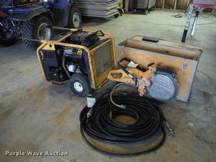 2005 Partner K3600 ring saw