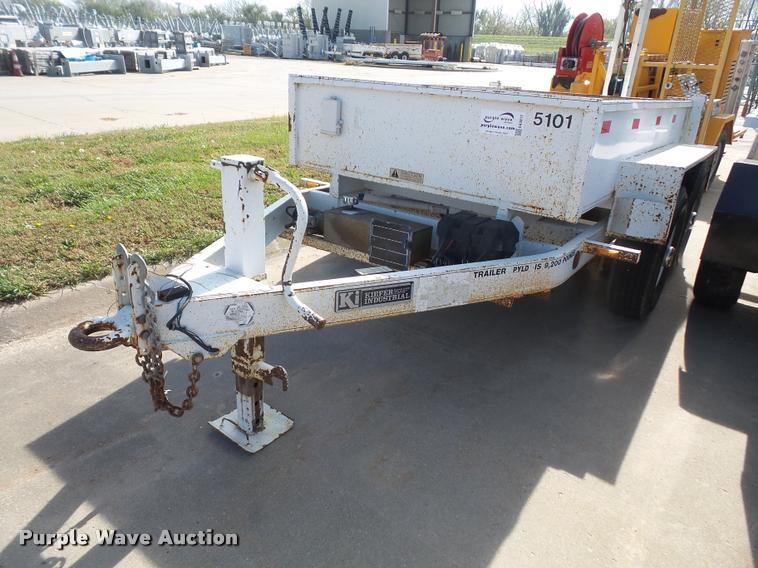 1999 Kiefer Industrial dump trailer