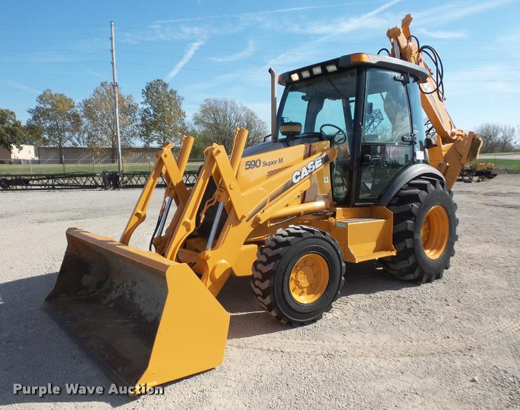 2001 Case 590 Super M backhoe