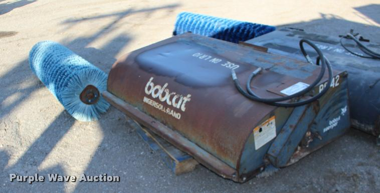 Bobcat Sweeper broom