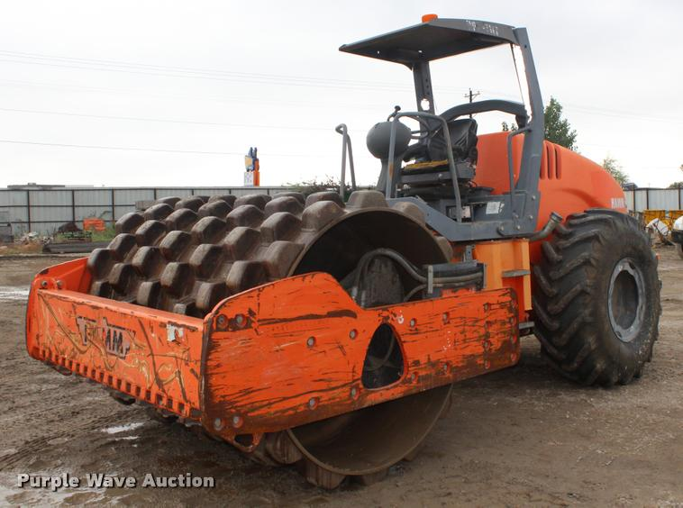 Hamm 3412P single drum roller