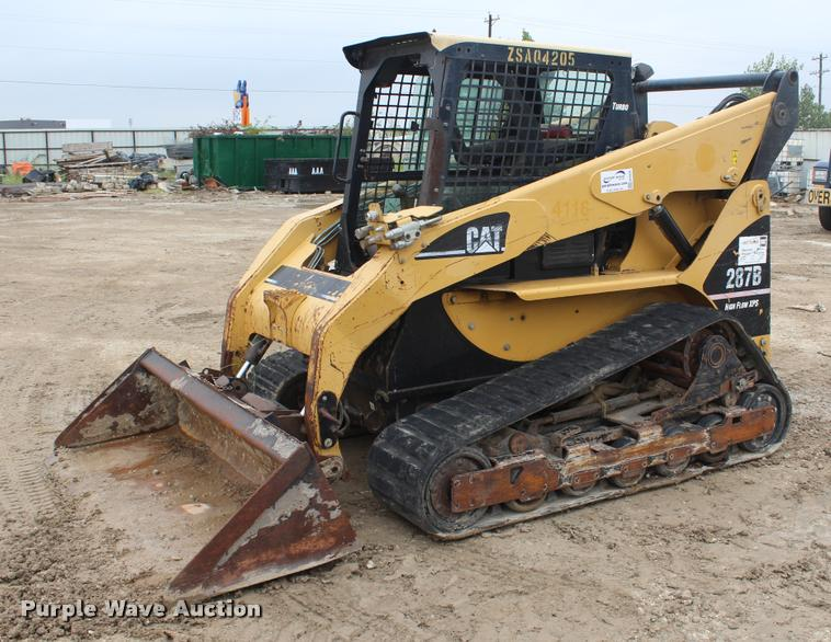 2007 Caterpillar 287B skid steer