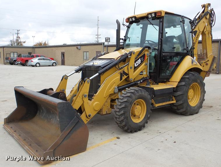 2013 Caterpillar 420F IT backhoe