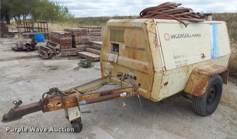 Ingersoll Rand P175WD air compressor