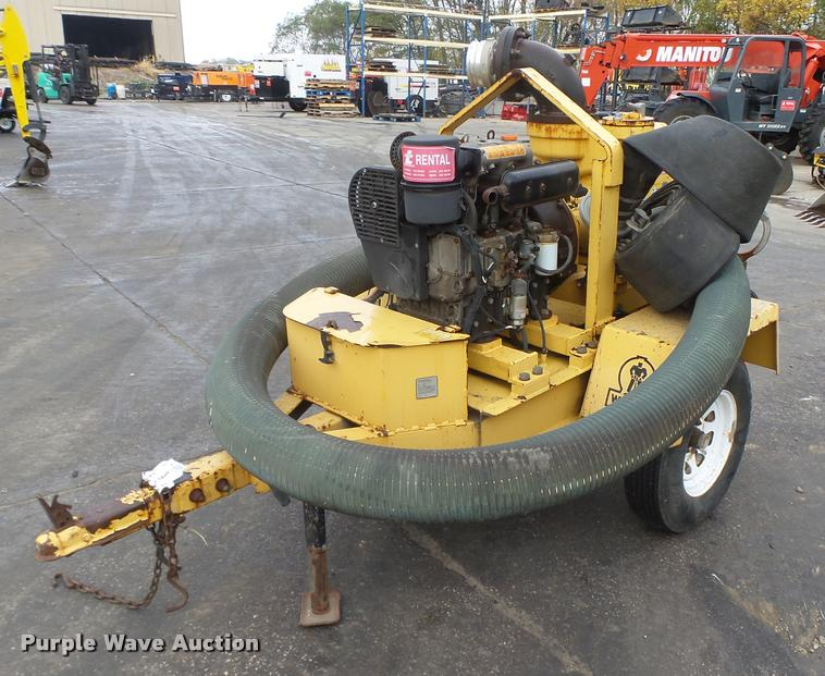 Wacker PT6LT water pump