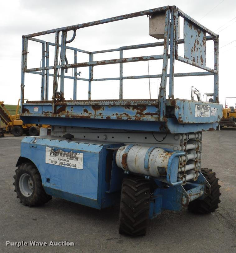 1999 Genie GS-3268RT scissor lift