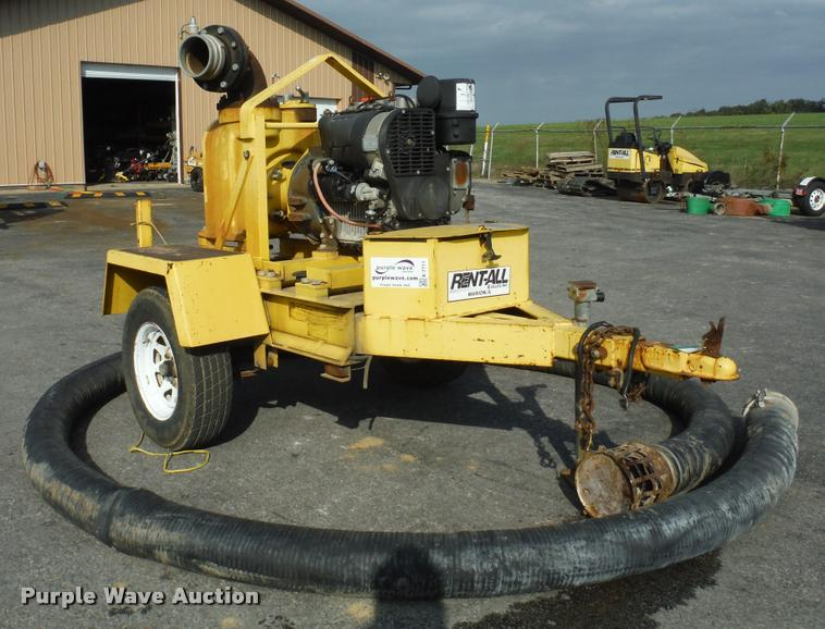 2002 Wacker PT6LT pump