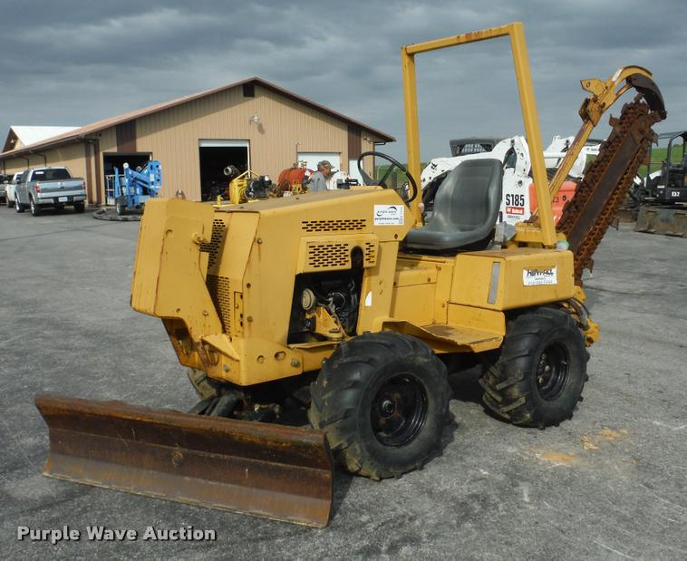1998 Vermeer V3550A trencher