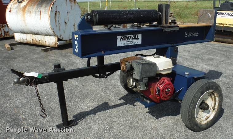 2006 Iron & Oak BHVH3405 wood splitter