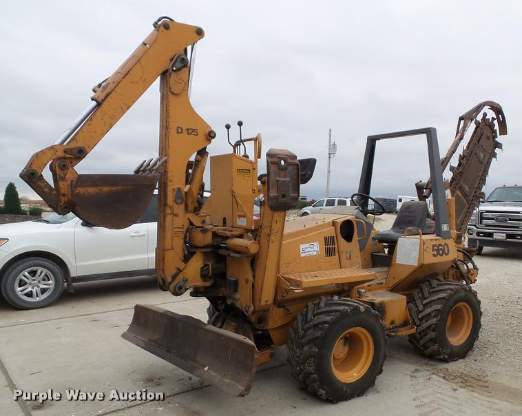2000 Case 560 trencher