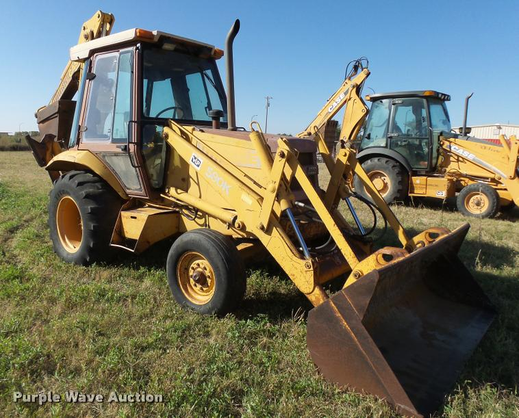 1987 Case 580K backhoe