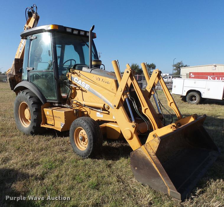 2002 Case 580M backhoe