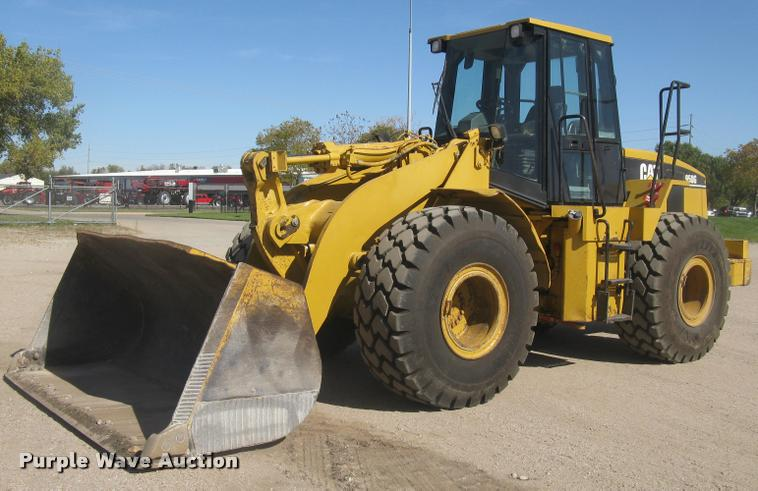 2001 Caterpillar 950G wheel loader