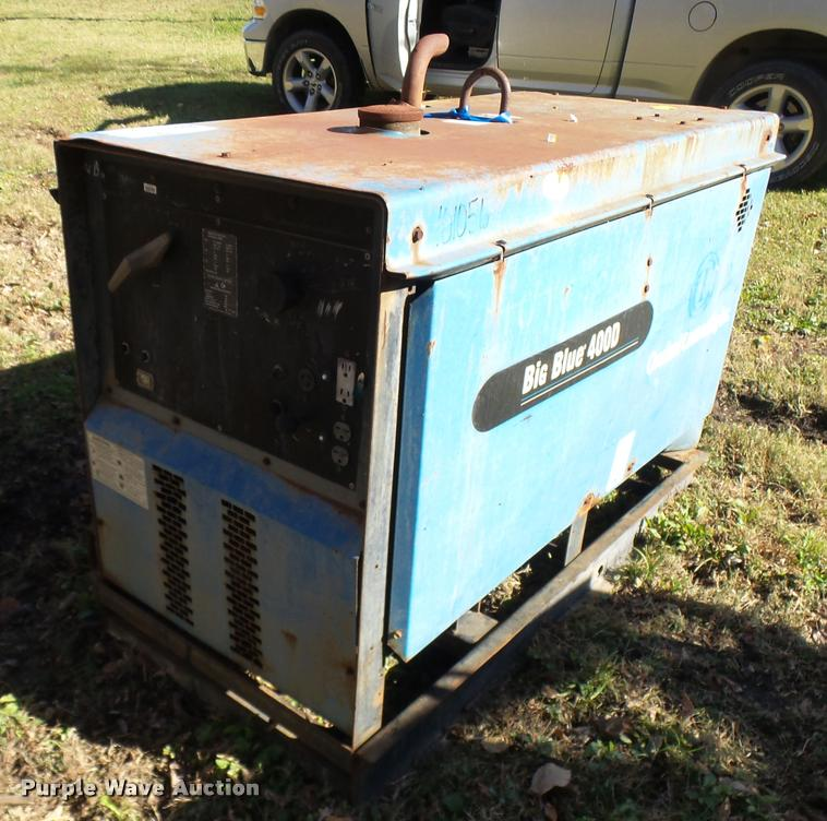 Miller Big Blue 400D welder/generator