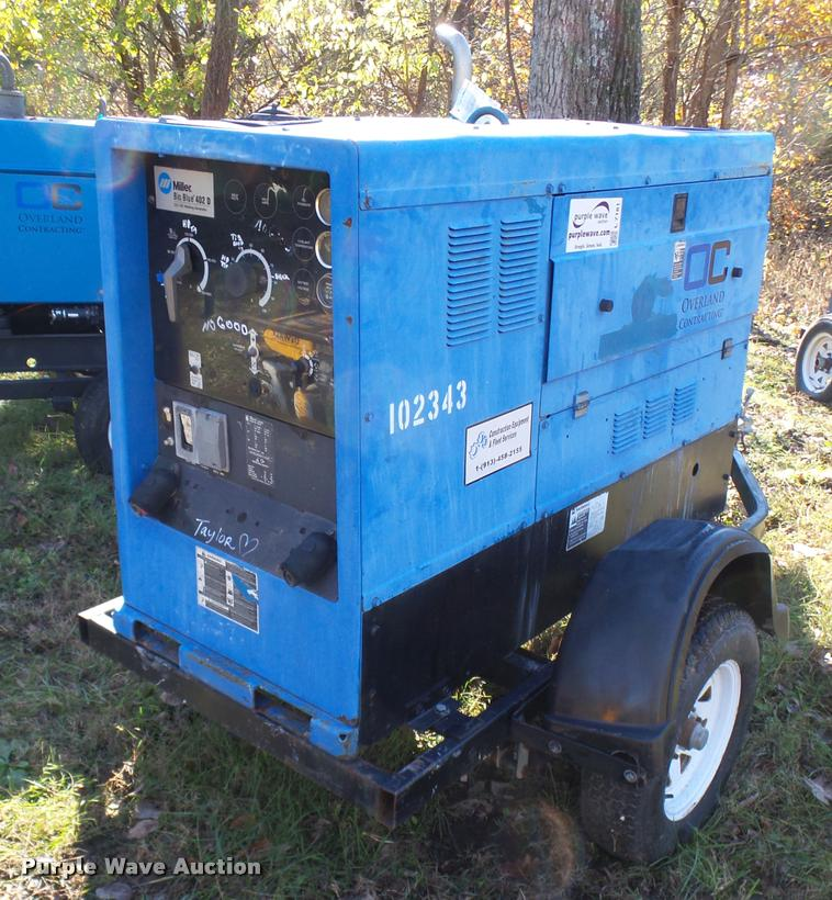 Miller Big Blue 402D welder/generator