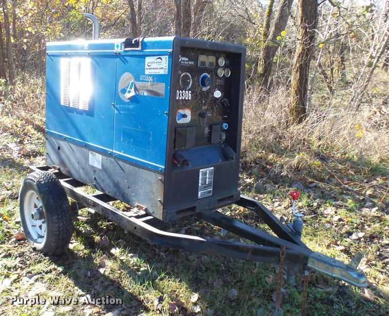 Miller Big Blue 500D welder/generator