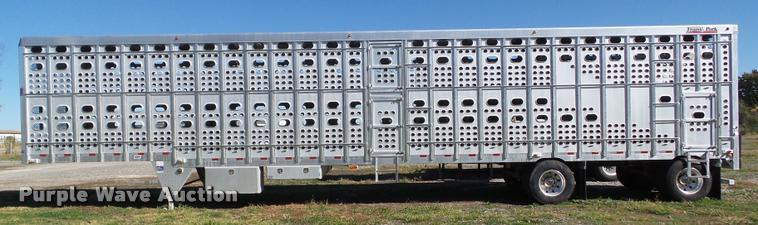 2007 Eby livestock trailer