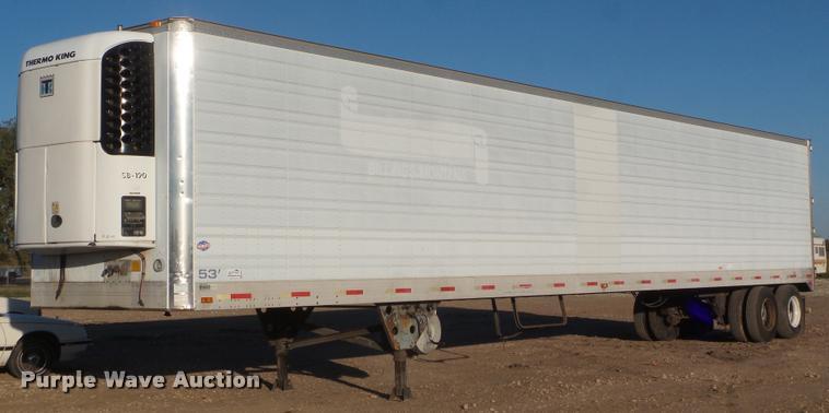 1998 Utility V52R refrigerated van trailer